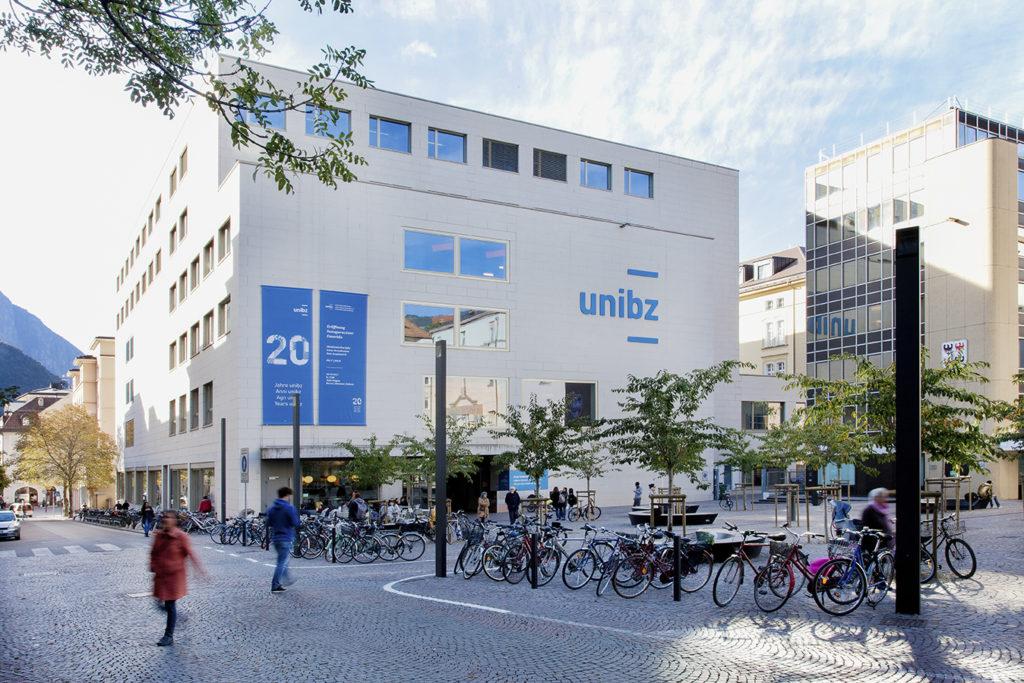 University square in Bolzano / Bozen